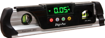 DIGI-PAS DWL-280 PRO (WATERPROOF TORPEDO DIGITAL LEVEL)