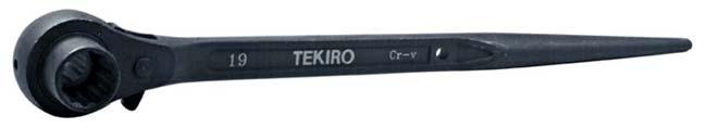 TEKIRO: CONSTRUCTION WRENCH (DOUBLE RACHET) 12X14MM