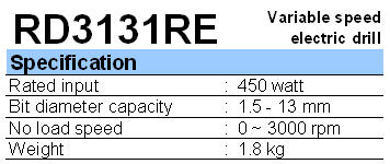 RYU: IMPACT DRILL RID 13 RE