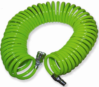 TEKIRO: RECOIL HOSE WITH SPRING 6 MTR